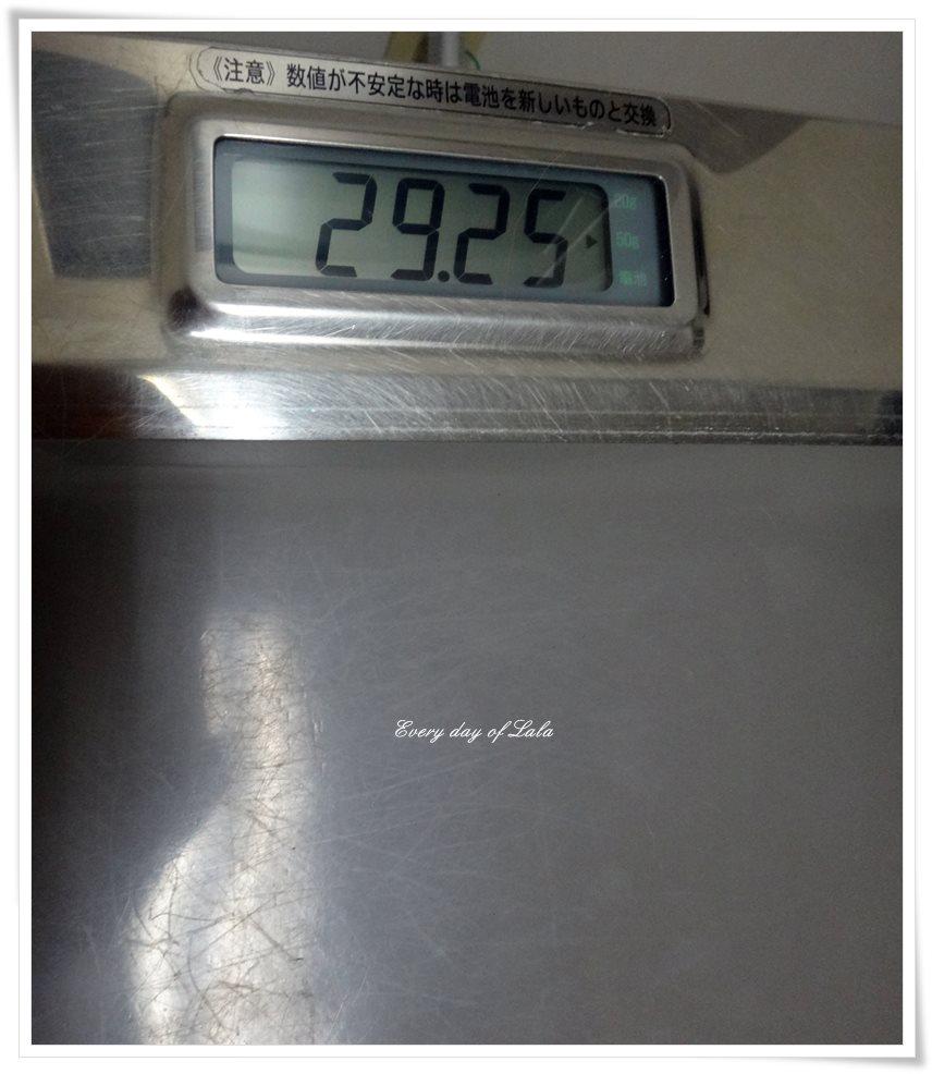 ララの体重29kg
