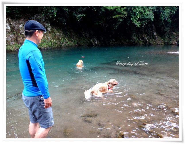 川遊び楽しいね