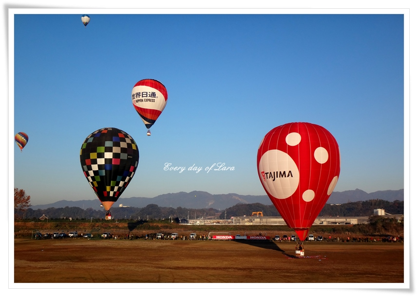 熱気球の競技1