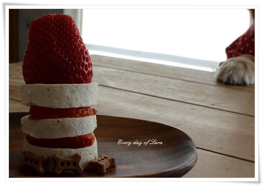 ララのクリスマスケーキ