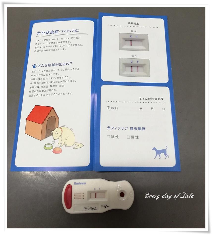 フィラリア血液検査