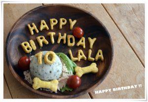 ララ10歳のお誕生日ケーキ!