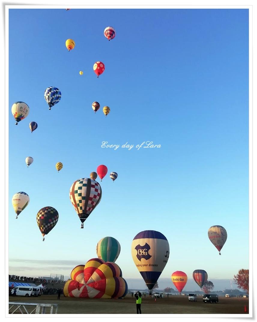 気球が飛び立つ1
