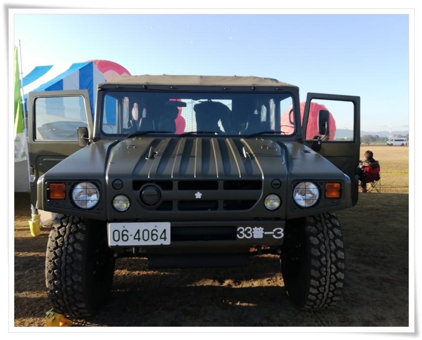 自衛隊の車2