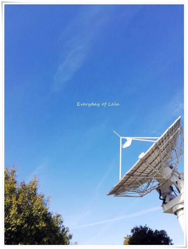 天体観測するアンテナかな