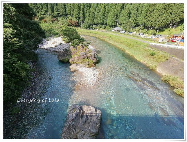 神埼川の景色を見ると