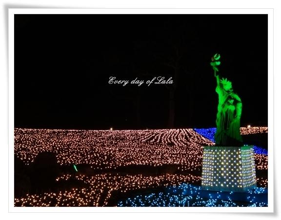 イルミ自由の女神201312