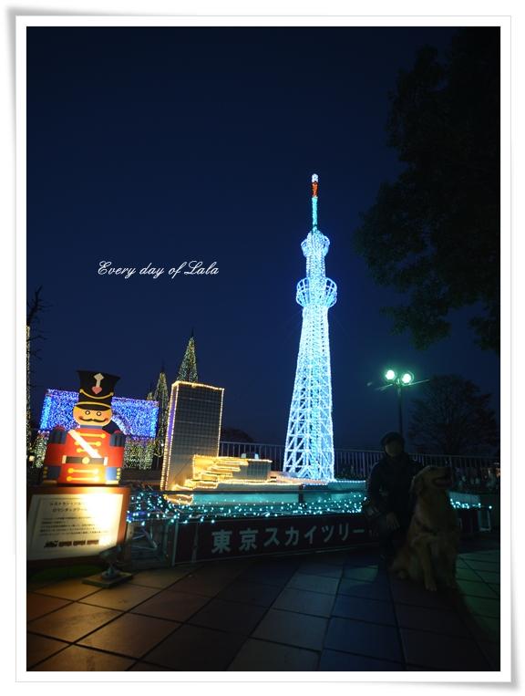 イルミ東京スカイツリー201312